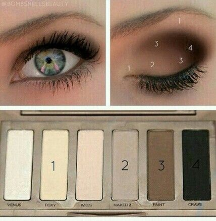 This really helps you with a smoky eye!