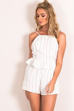NO END FRILL PLAYSUIT