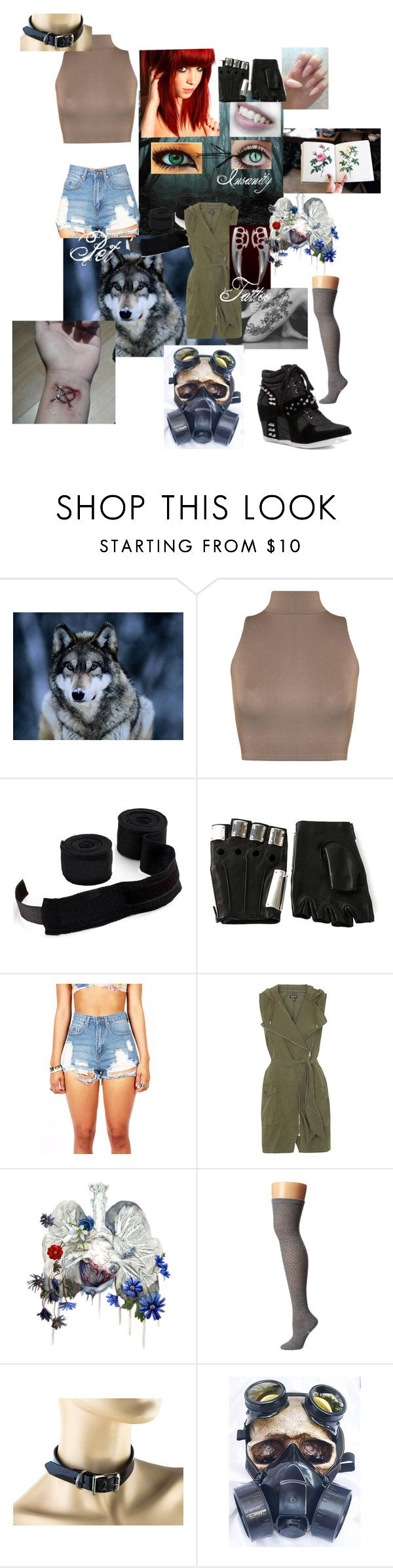"""[Creepypasta Oc]{proxy}Huntress"" by cosmicpanda ❤ liked on Polyvore featuring WearAll, CO, Majesty Black, Topshop, Zephyr, Smartwool and GAS Jeans"