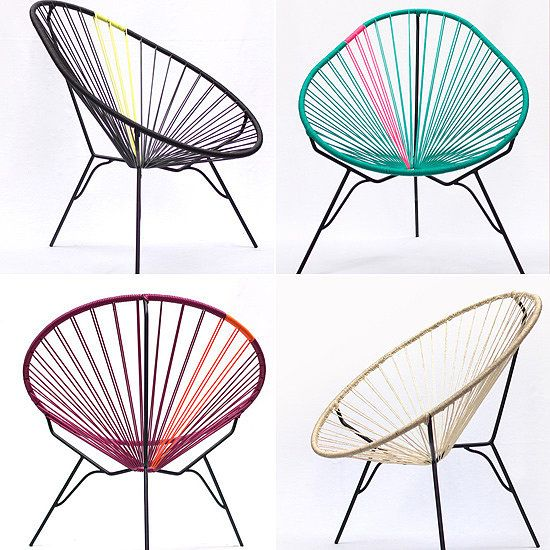 Gallant & Jones Acapulco Chair #coloreveryday