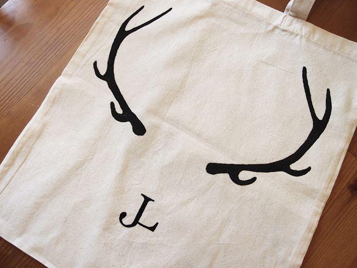 DIY print canvas bag
