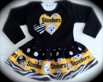 Steelers Baby Clothes Captivating 32 Best Steelers Baby Images On Pinterest  Infant Photos Newborn 2018