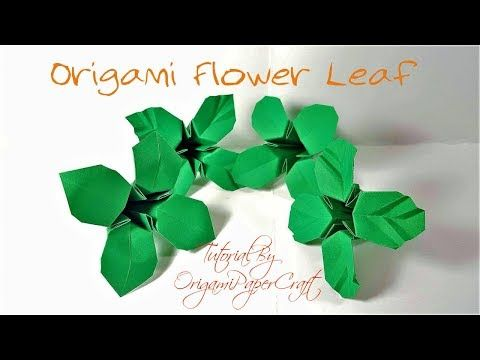 How to make origami flower leaves tutorial by origamipapercraft how to make origami flower leaves tutorial by origamipapercraft youtube mightylinksfo