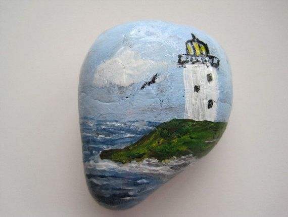 Lighthouse Natural Stone : Images about pebbles and stones lighthouse on