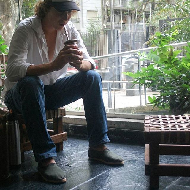 Día gris 🍃☀🌾 #mate #compañerodevida #jasytei #sillamatera #termera #alpargatas #dia #mañanas #campo  #ciudad #tradicion