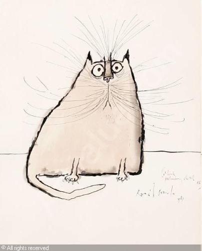 ronald searle cats - Cerca con Google