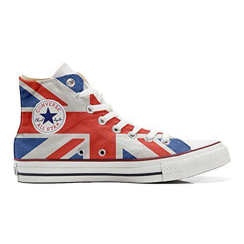 Converse All Star personalisierte Schuhe (Handwerk Produkt) mit US-Flagge - http://on-line-kaufen.de/make-your-shoes/converse-all-star-personalisierte-schuhe-mit-us