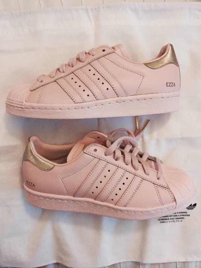 Custom Adidas Supercolor Superstar Shoes Blush Pink | Kixify Marketplace Adidas women shoes - http://amzn.to/2jB6Udm