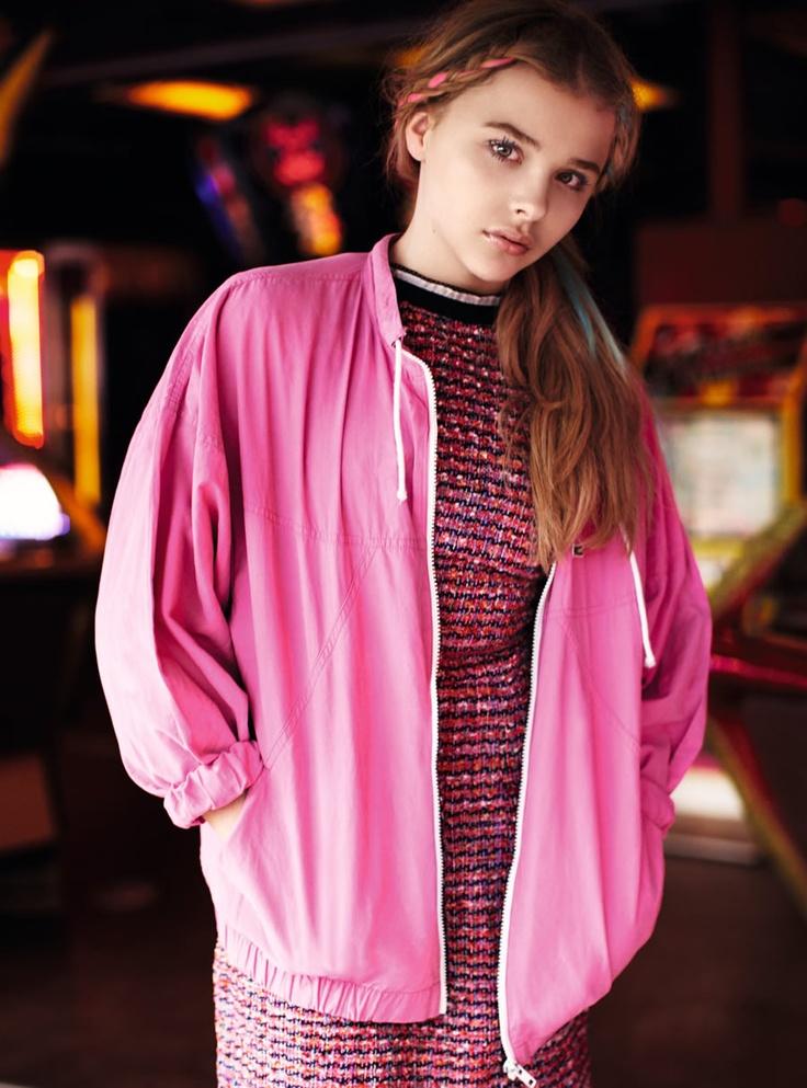 Chloë Moretz by Alexander Sainsbury for ASOS January 2012