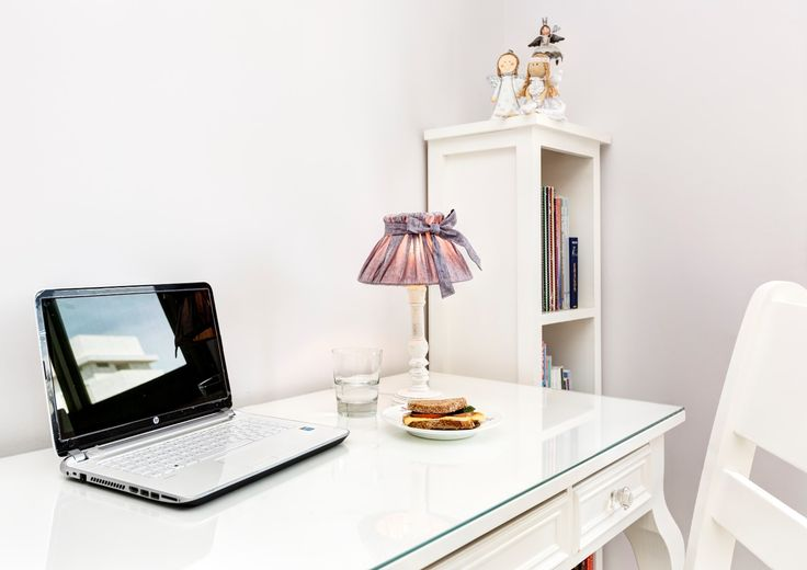 A cozy corner for homework and daily creativity