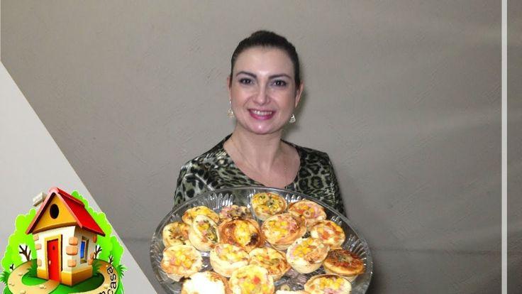 PIZZA CUPCAKES-Culinaria em Casa