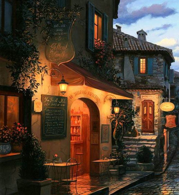 """Magic Evening"" by Eugene Lushpin"