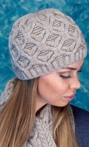 узор для шарфа и шапки спицами вязание Pinterest вязание шарф