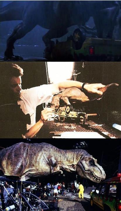 Cómo se hizo Parque Jurásico  http://www.sensacine.com/peliculas/pelicula-8488/  #SensaCine #JurassicPark