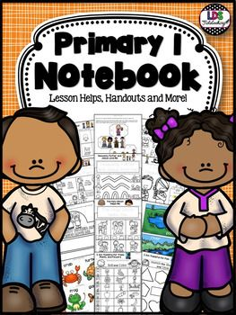 LDS Primary 1 Notebook - Growing