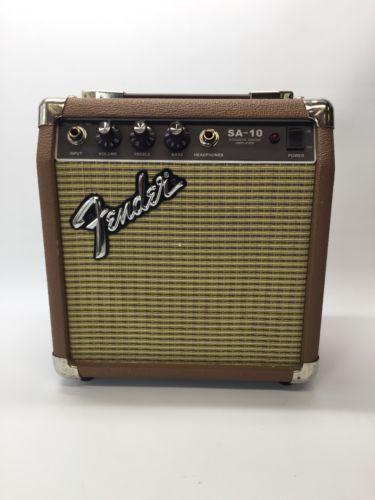 Fender Sa 10 Acoustic Guitar Amp Nice Please Retweet Stuff For