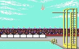 Another C64 game - Summer Games I, II and Winter Games.  the joysticks got a work out!!