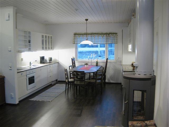 Kitchen in Villa Adele