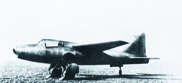 With the support of German plane manufacturer Heinkel, Von Ohain's improved turbojet design is the first to be built and tested. The first jet-propelled aircraft, the Heinkel He 178, flies in August 1939