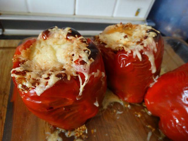 Vamos a cocinar con Yoli e Inés: Pimientos rellenos de pavo y quinoa