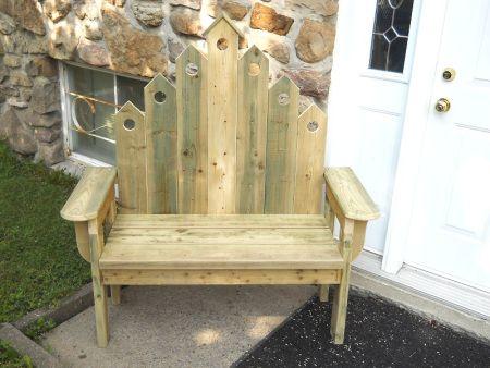 Rustic Porch Bench / Banc de porche rustique