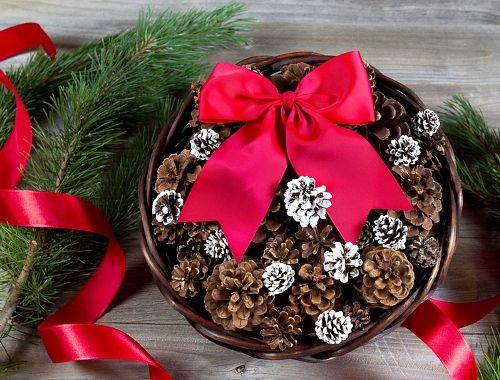 Proste dekoracje świąteczne DIY, Boże Narodzenie, handmade, bombki