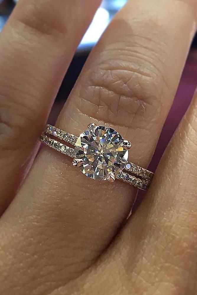 Vs Natural Morganite Engagement Ring 14k Rose Gold Diamond Wedding