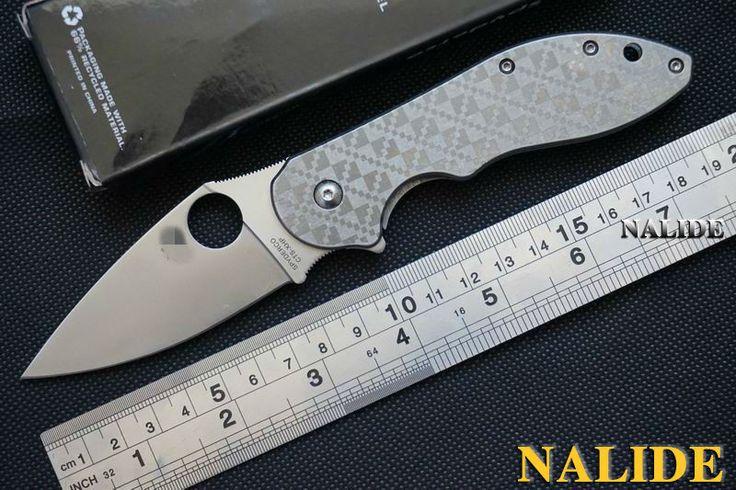 Spider C172 ložisko ploutev zavírací nůž 440C Brusné kotouče Stonewased zacházejte nástroj Camping taktické zavírací nože EDC (Čína (pevninská část))