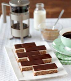 Dark Chocolate Peppermint Slice » Recipes » Cadbury Kitchen
