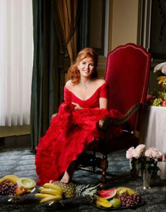 Sarah, Duchess of York. This is perhaps the most beautiful picture I have ever viewed of the Duchess.