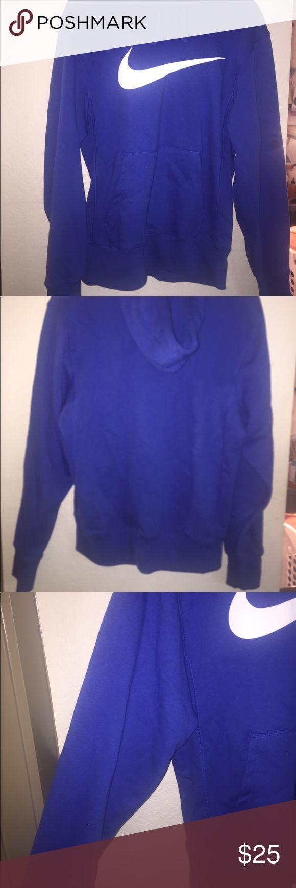 Blue nike hoodie Men's Nike swoosh fleece hoodie Nike Shirts Sweatshirts & Hoodies