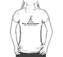 mrs. david tennant. T-Shirt by cmarie159
