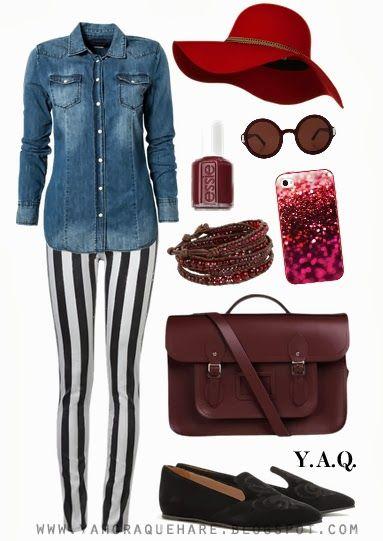 Y. A. Q. - Blog de moda, inspiración y tendencias: [Y ahora qué me pongo con] Pantalones estampados
