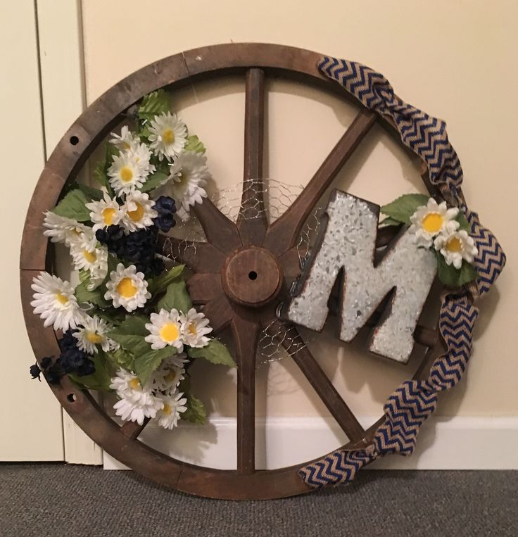 Had this wagon wheel and needed something to go over a bed at my lake house. I love it.