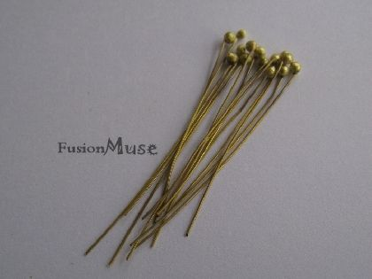 Handmade Brass Ball pins.By the 100 or 1000