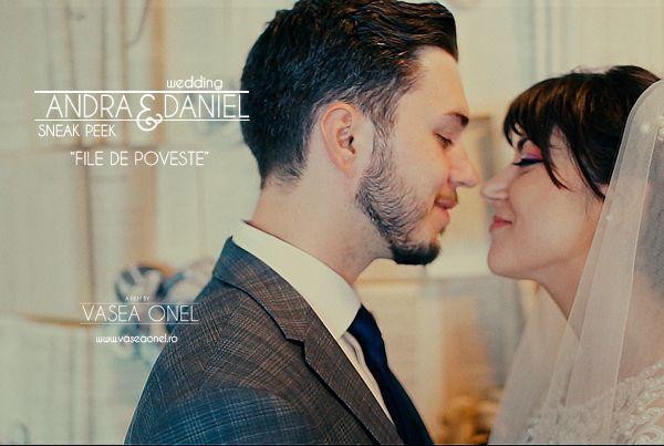 "Andra & Daniel – wedding highlights – ""file de poveste"" – by Vasea Onel"