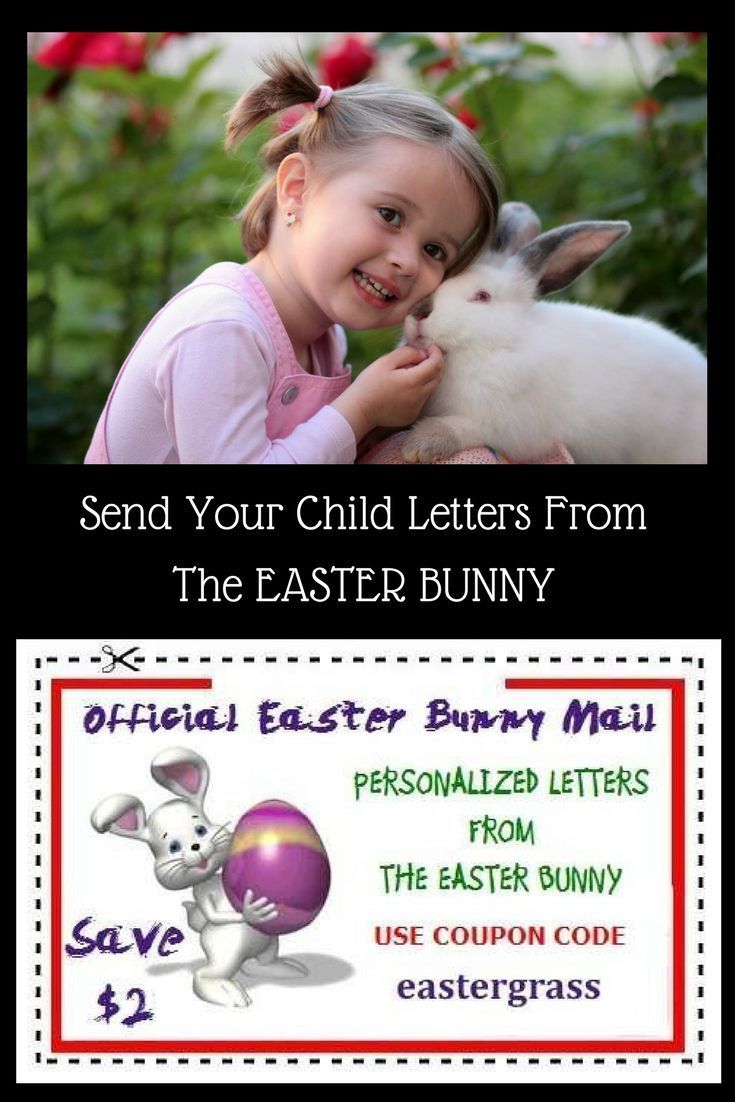 Welcome! This is Official Easter Bunny Mail. What a great idea to send your child an official letter from the Easter Bunny. This is sure to put a smile on any child's face! If you would like more information click on the image. #easterbunny#ad