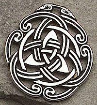 Celtic Peace Knot Pendant Necklace Triquetra Tranquil Mind Body Spirit Amulet | eBay