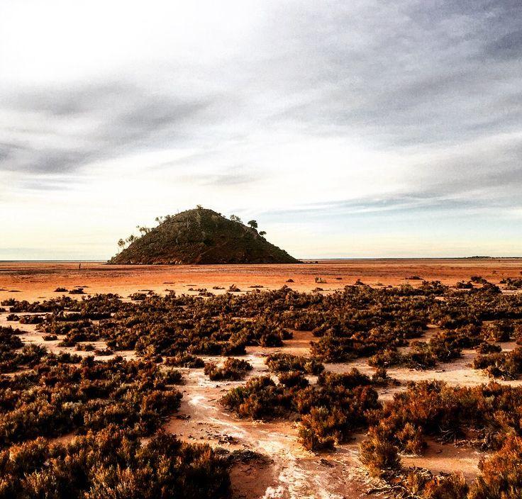 Lake Ballard, salt flats, Western Australia