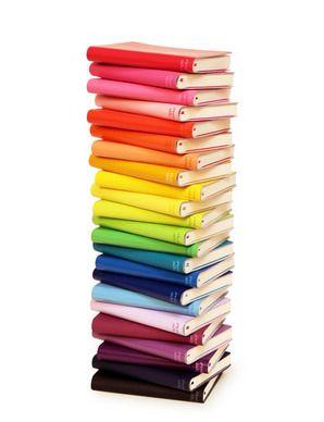 Rainbow tiny sketchbooks