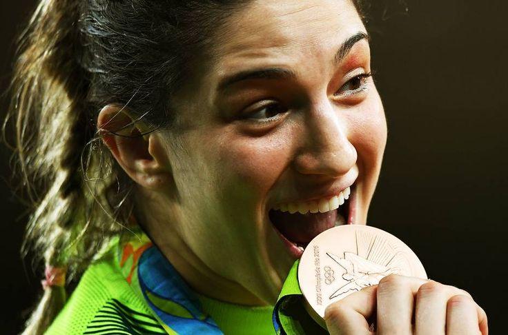 Mayra Aguiar, bronze, é a primeira brasileira com duas medalhas olímpicas