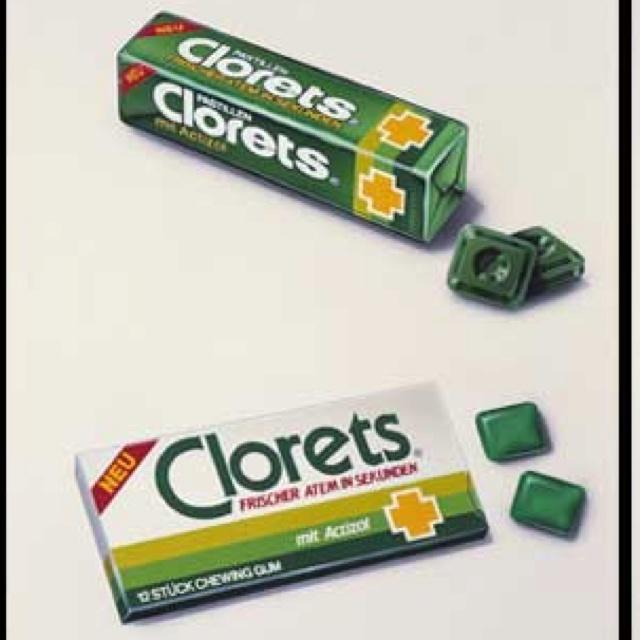 La primera presentación de Clorets