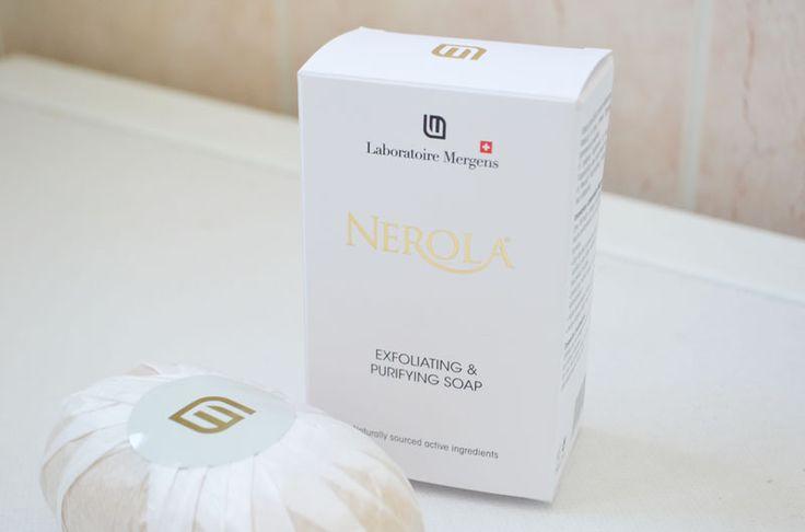 Savon exfoliant #Nerola des Laboratoires Mergens #skincare #soap