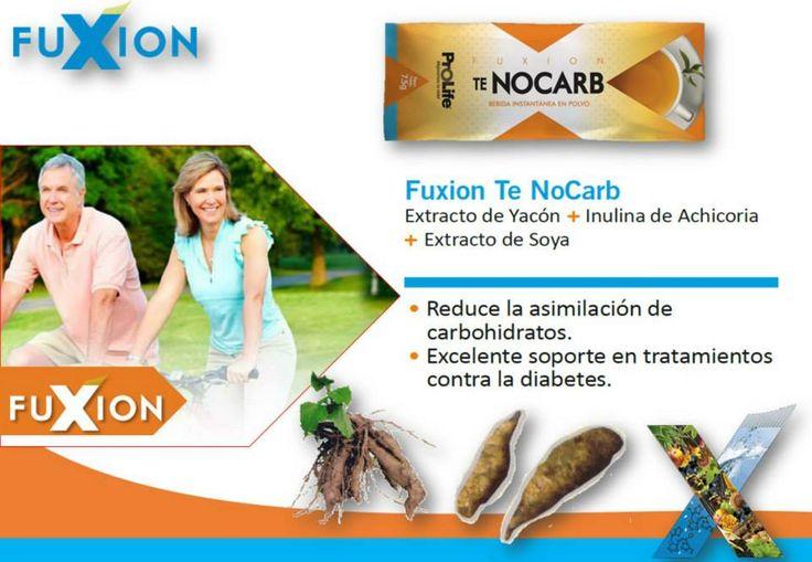 TE NOCARB: Extracto de Yacón + Inulina de Achicoria + Extracto de Soya. ser un excelente aliado para el control de la diabetes es tan sólo uno de sus beneficios.