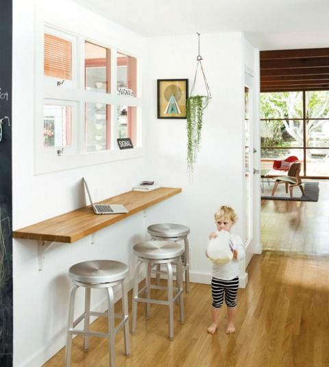 perfect for computer/homework station in kitchen
