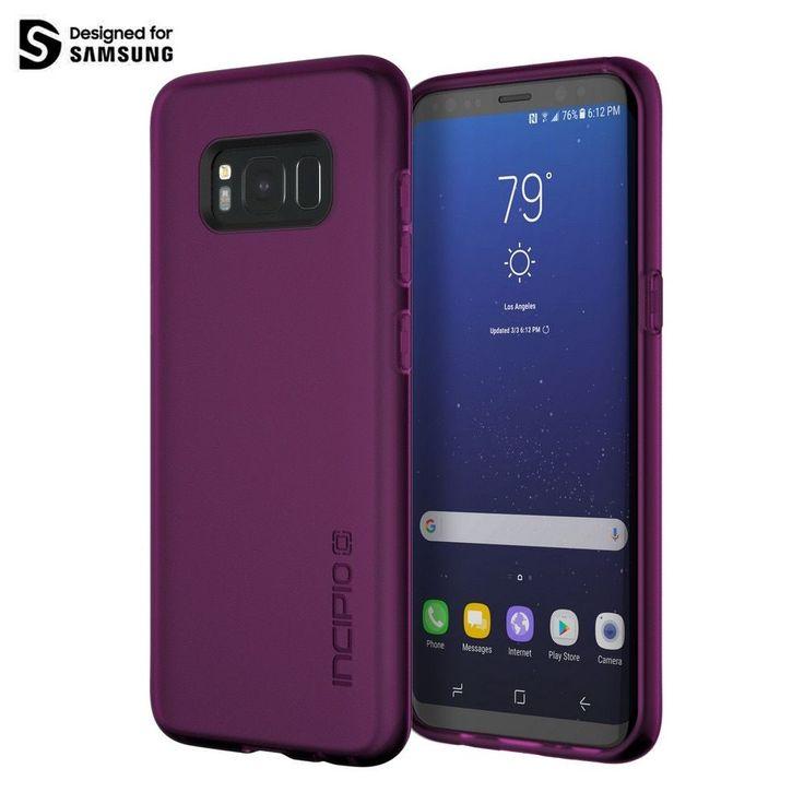 Incipio NGP Case Samsung Galaxy S8+ S8 Plus Purpur extrem flexibel und reißfest