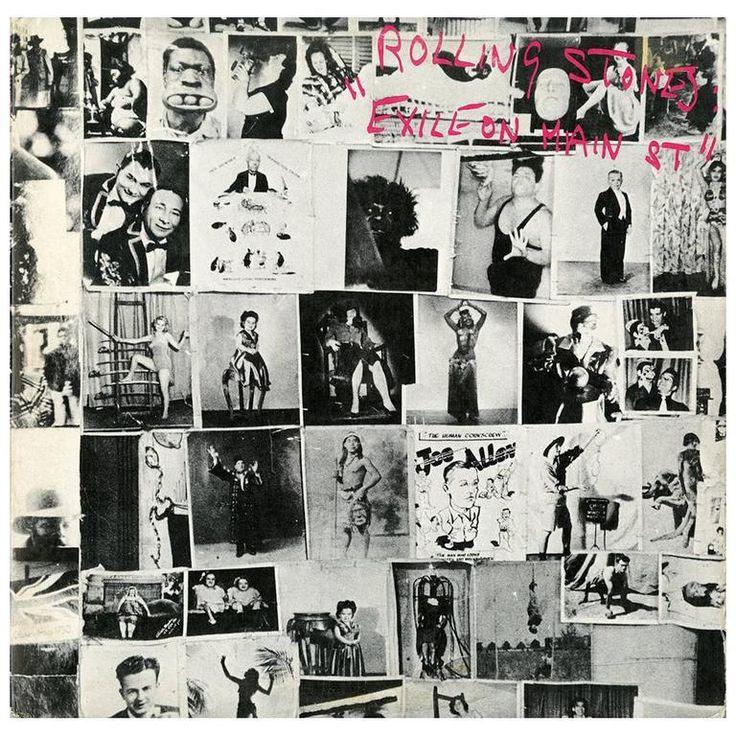Original Rolling Stones, Exile on Main Street Vinyl Record