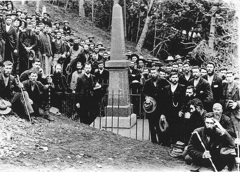 1 st Monument, 1913 [Saint Helena Island Info:Boer Prisoners (1900-1902)]
