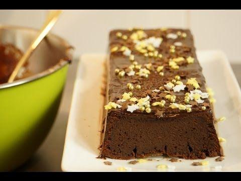 Recette de la bûche de noel rapide et facile au chocolat et à la crème de marrons