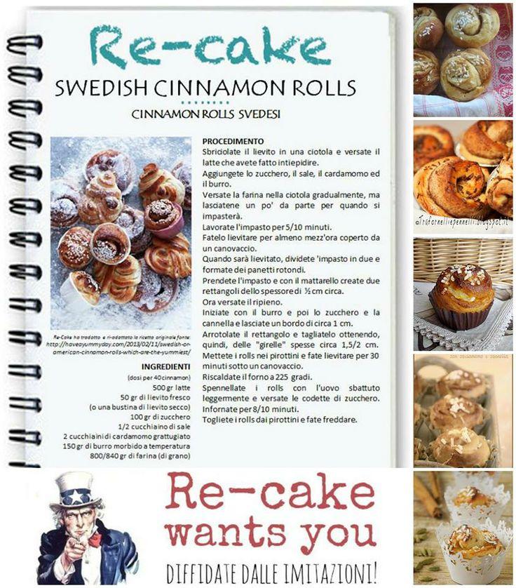 https://www.facebook.com/groups/recake/ with these spicy Swedish #cinnamonrolls